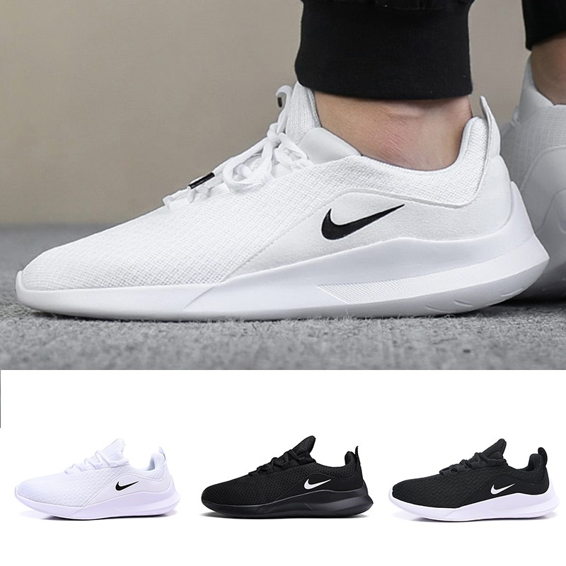 terrorista Hacer rasguño  Original Nike Viale Roshe Run 5 Sport Running Shoes Women Men Ultra-Light  Mesh Breathable Jogging Shoes 36-44 | Shopee Malaysia