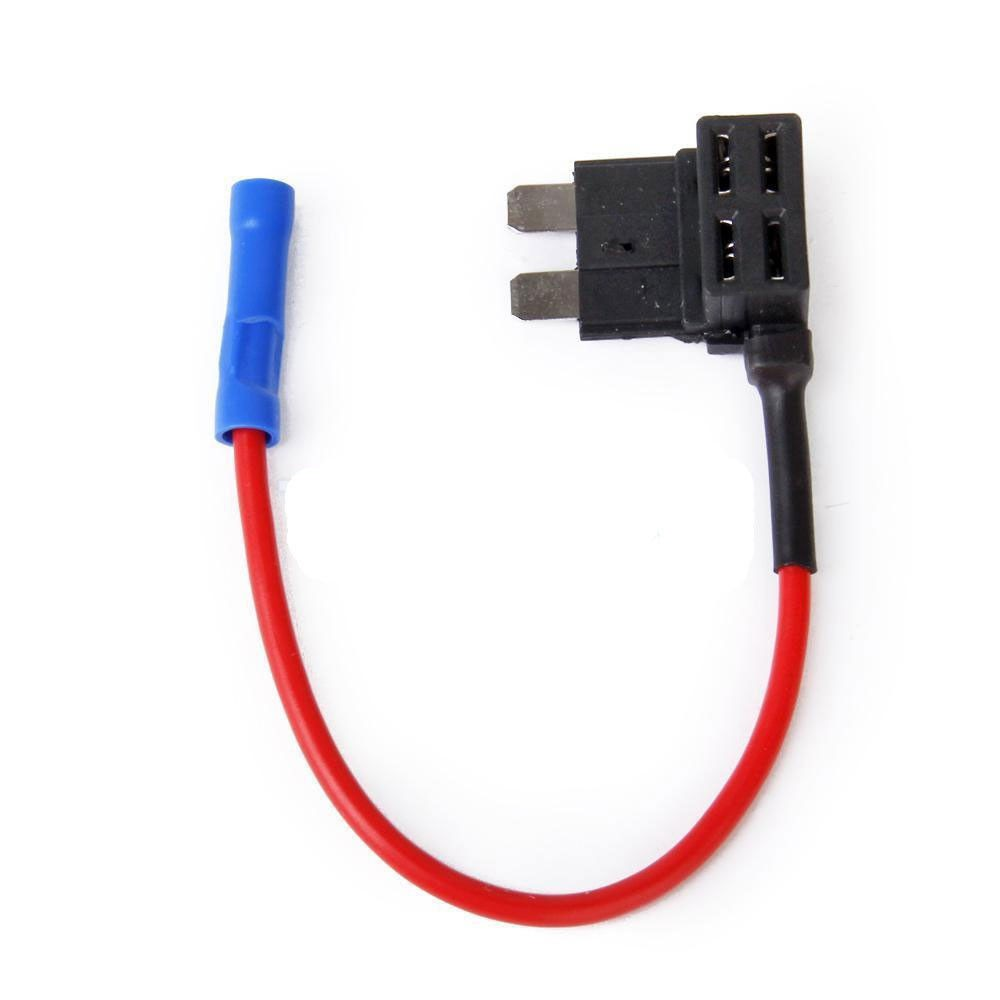 2 x Add A Circuit Piggy Back Fuse Tap Mini Blade Fuse Holder ATM ATP 12V
