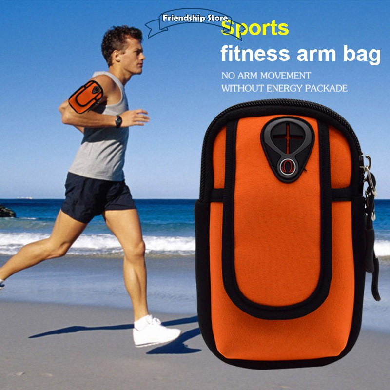 Running Bags Sports & Entertainment Adjustable Armband Arm Band Case Cover Wrist Strap Pouch Wallet Phone Holder For Running Hiking Cycling Gym Jogging Lustrous Surface