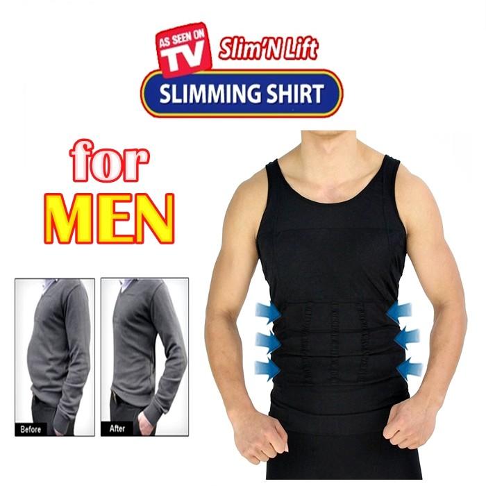 slimming singlet lelaki)
