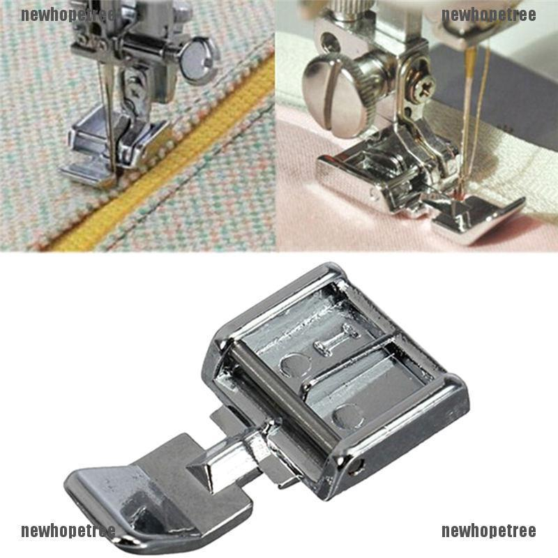 """1//4/"""" Snap-On Double Bordure Piping Foot For Domestic Sewing Machine"""