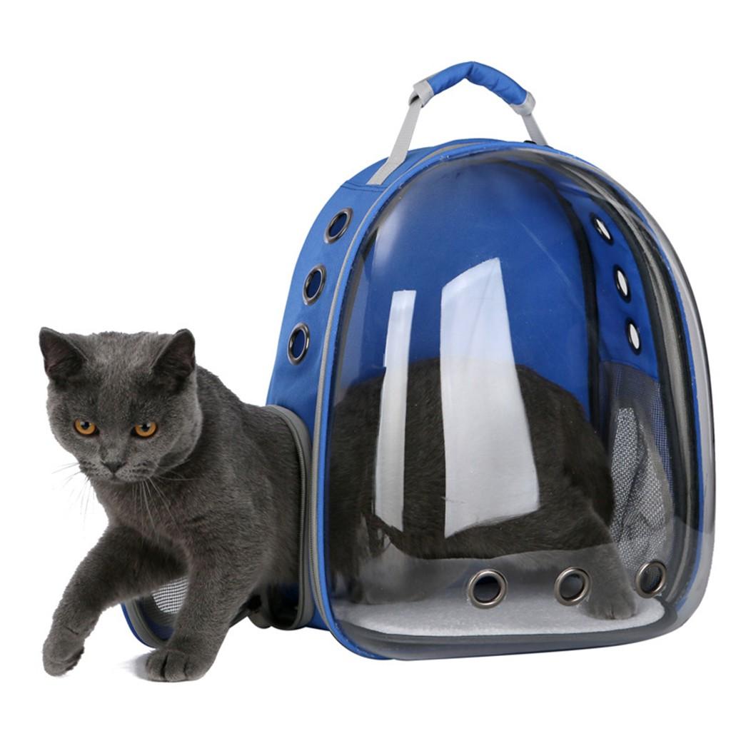 fab466e55c Transparent Breathable Space Cabin Cat Dog Carrier Shoulder Bag - Pink