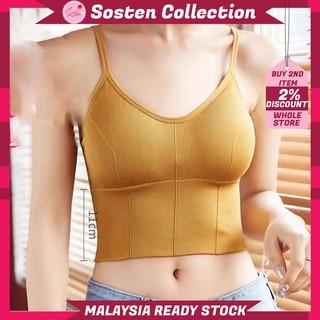 【READY STOCK】ST137 Big U Shape Camisole Bra Ladies Sexy ...
