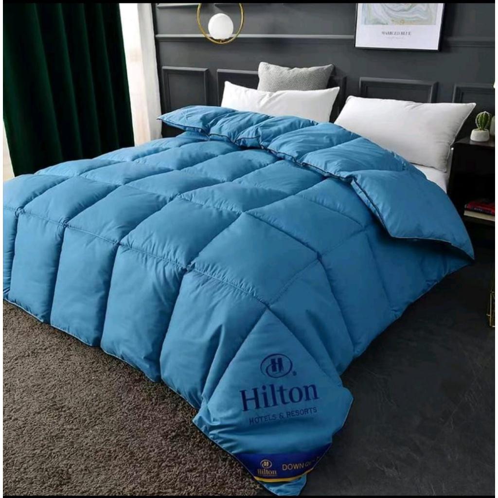 Hilton Comforter High Quality (200x230CM)[ Ready Stock ]   Hilton Toto Super Soft 3.5Kg