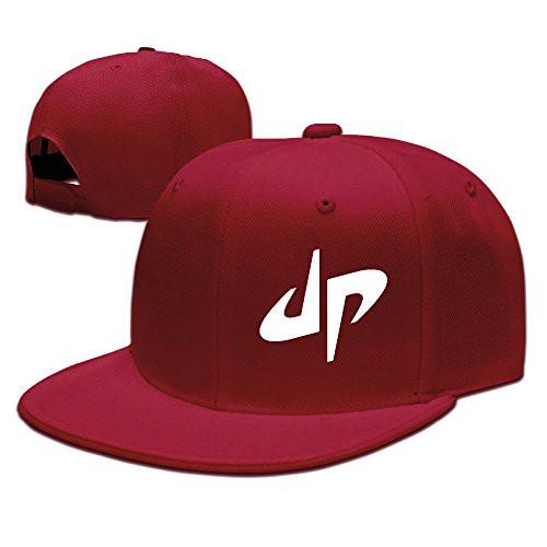 Kualday Kids DP Dude Perfect Logo Plain Adjustable Snapback Hats Caps