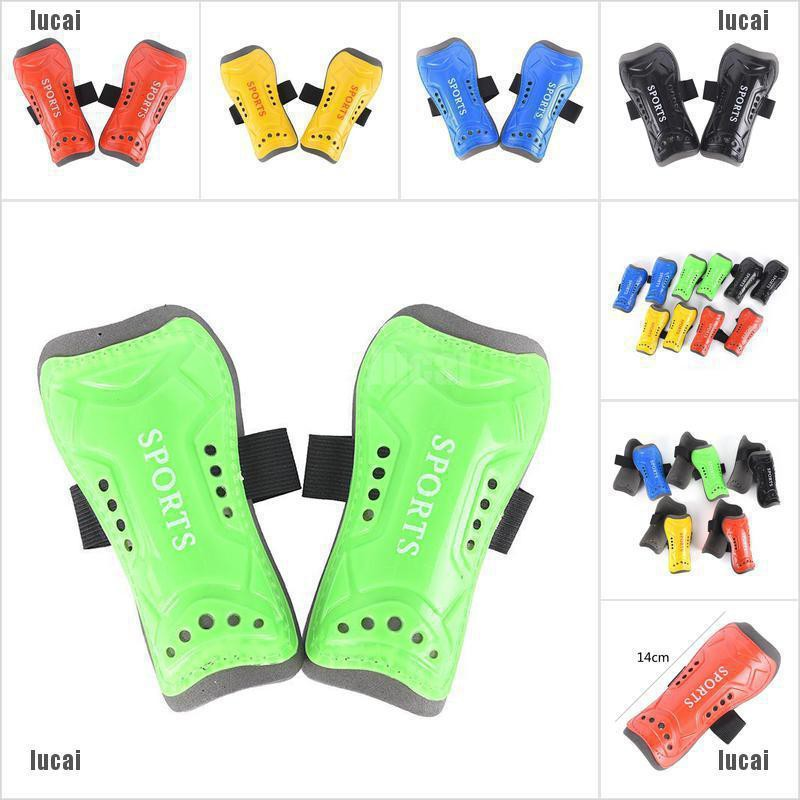 1 Pair Kids Child Soft Football Shin Pads Soccer Guards Sports【lucai+stock】