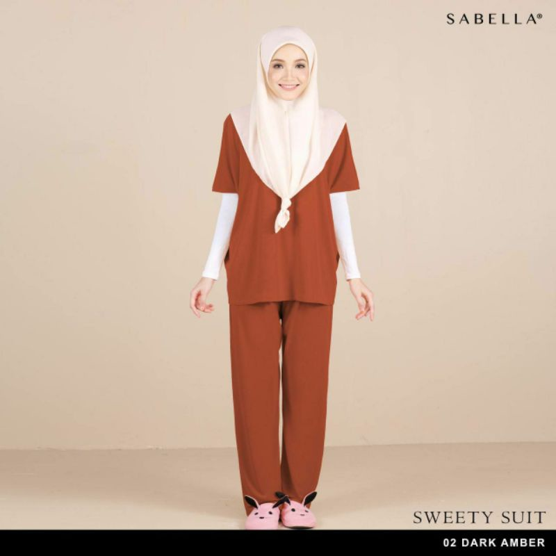 Sabella Sweety Suit Free size fit (XS-L) Baju Kelawar Modern [Ready Stock]