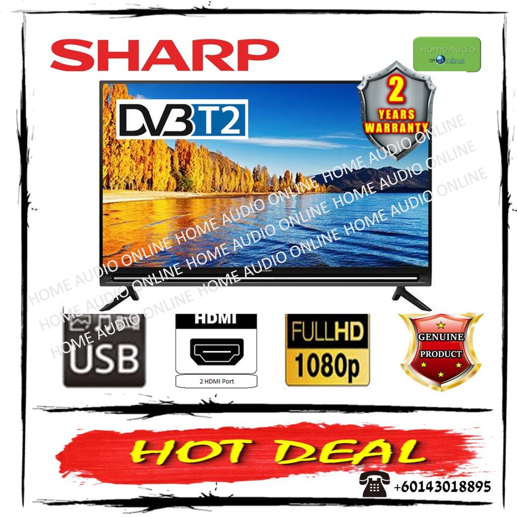 Sharp 40 Inch DVBT2 Full HD LED Backlighted TV - LC40SA5200X