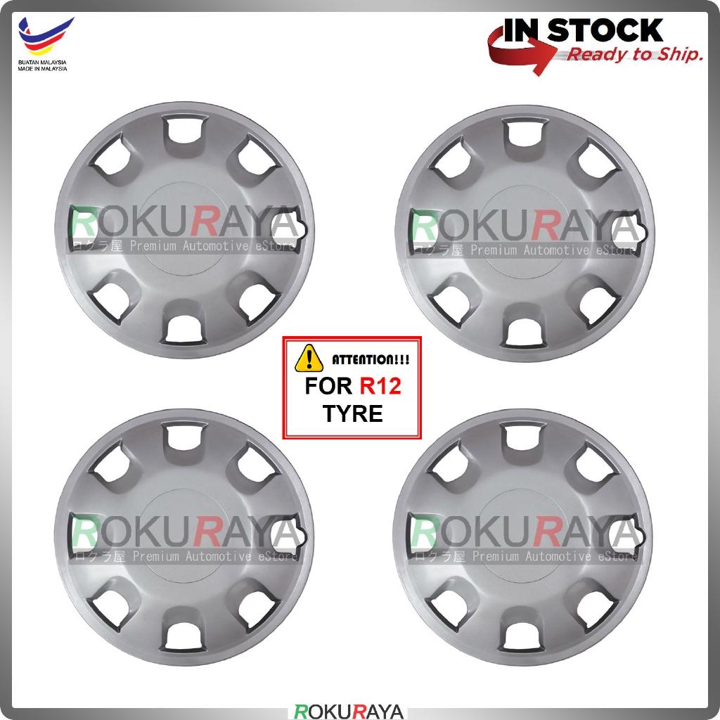 Universal R12'' Inch Car Wheel Cover Tyre Center Hub Cap Steel Rim (Viva OEM Design)