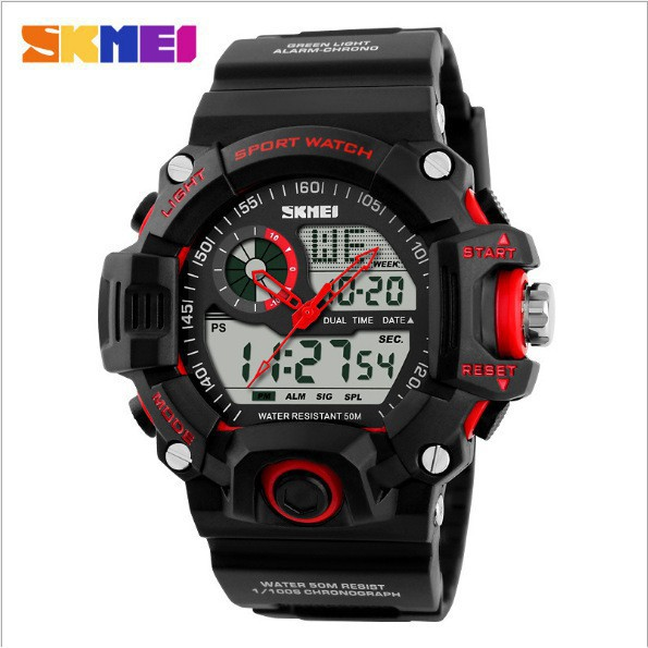 Kids Sports Watches Children For Girls Boys Dual Display Wristwatches SKMEI   960d4f3363