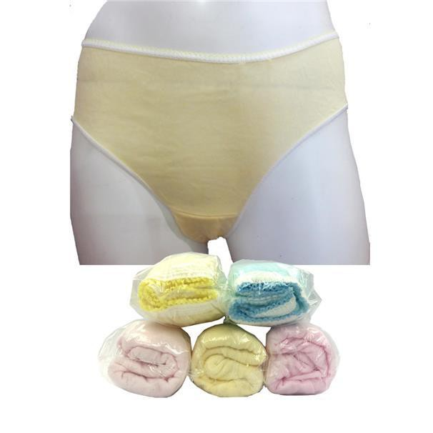 Qq Disposable Cotton Panties Woman M Size 5pc