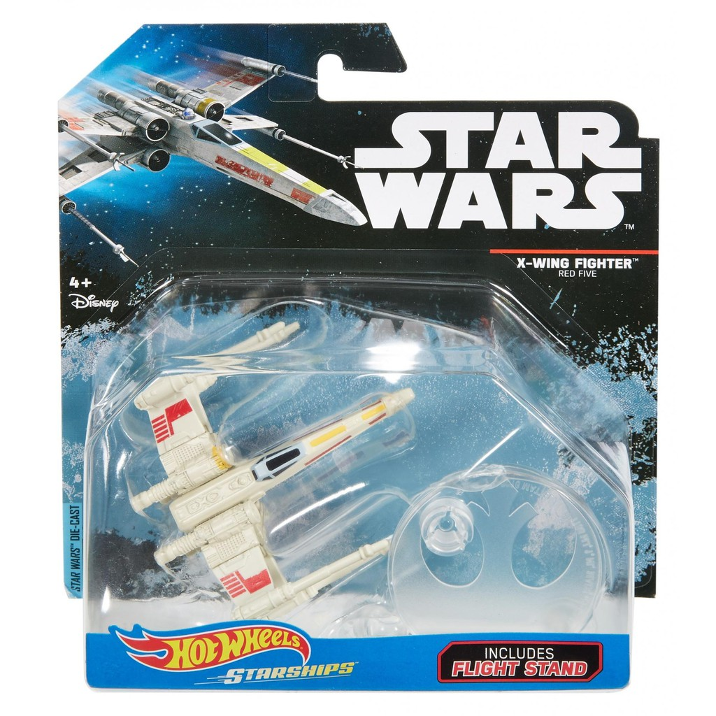 X WING FIGHTER HOTWHEELS RED FIVE New /& Sealed