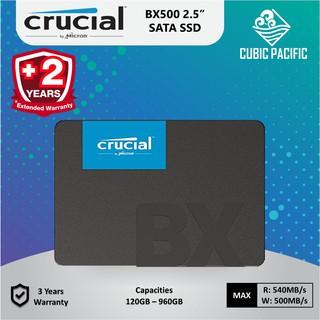 Crucial BX500 120GB/240GB/480GB/960GB SATA 2 5