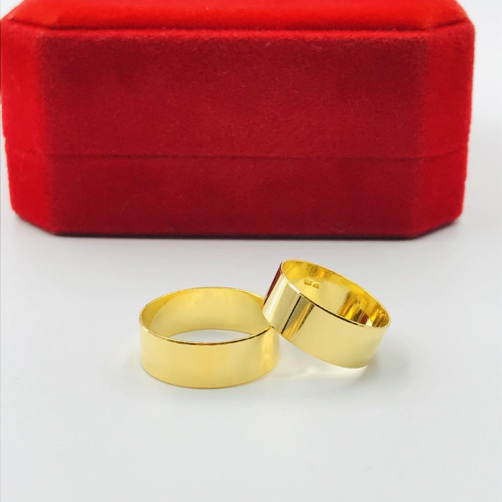 Exclusive Plain Ring/Cincin Emas Licin (Emas 916)