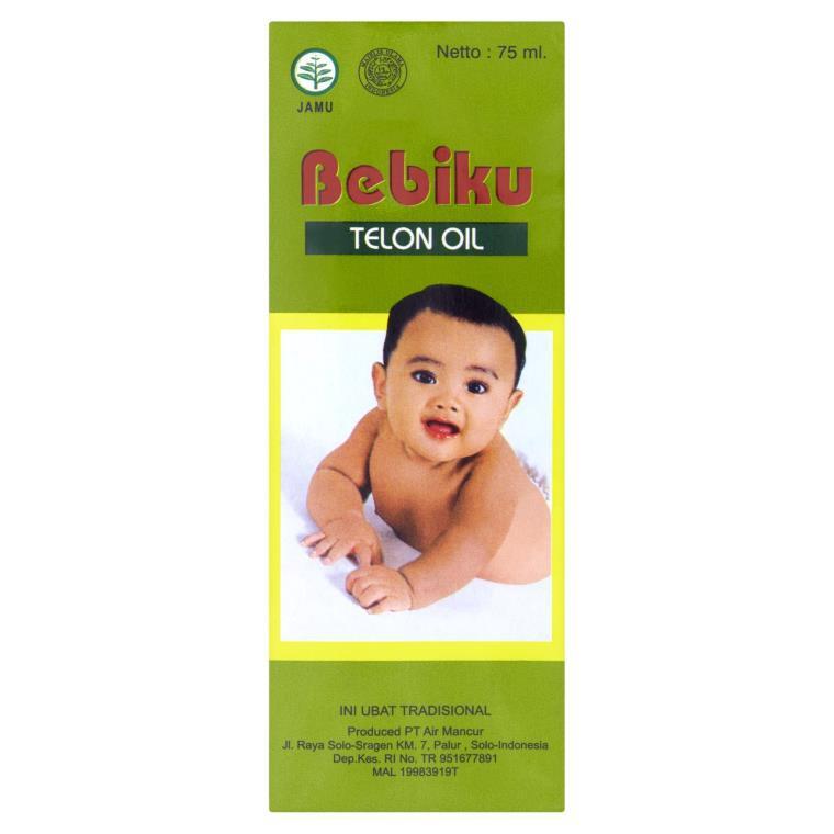 MINYAK TELON BEBIKU (30ML / 75ML)