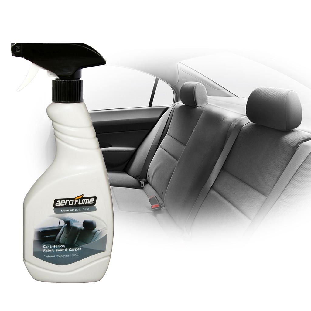 Aerofume Air Freshener Clean Air Perfume (Car Interior, Fabric Seat & Carpet,Flora Bed,Tobacco Eliminator)