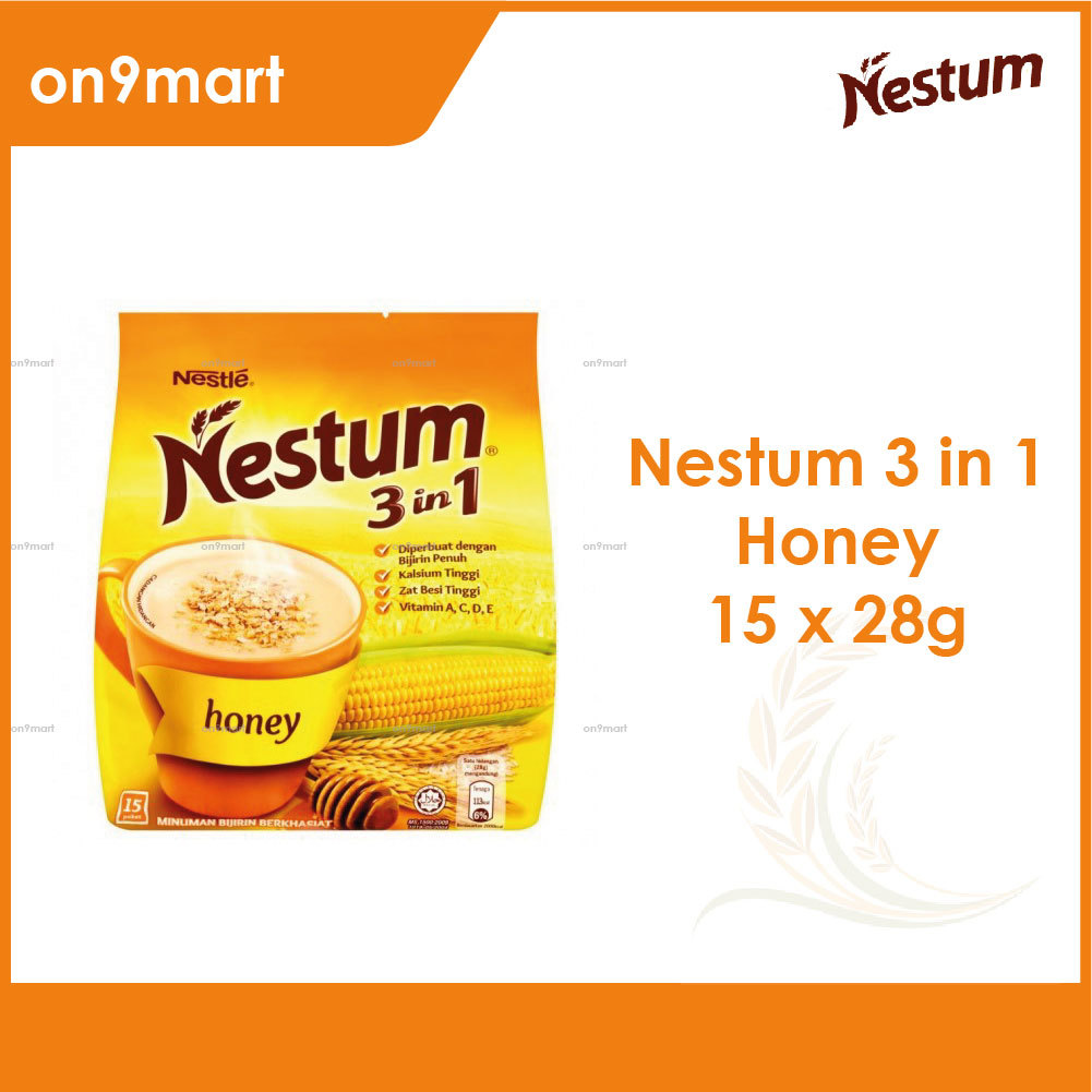 Nestum Cereal Drink 3 in1 Honey 15 x 28g