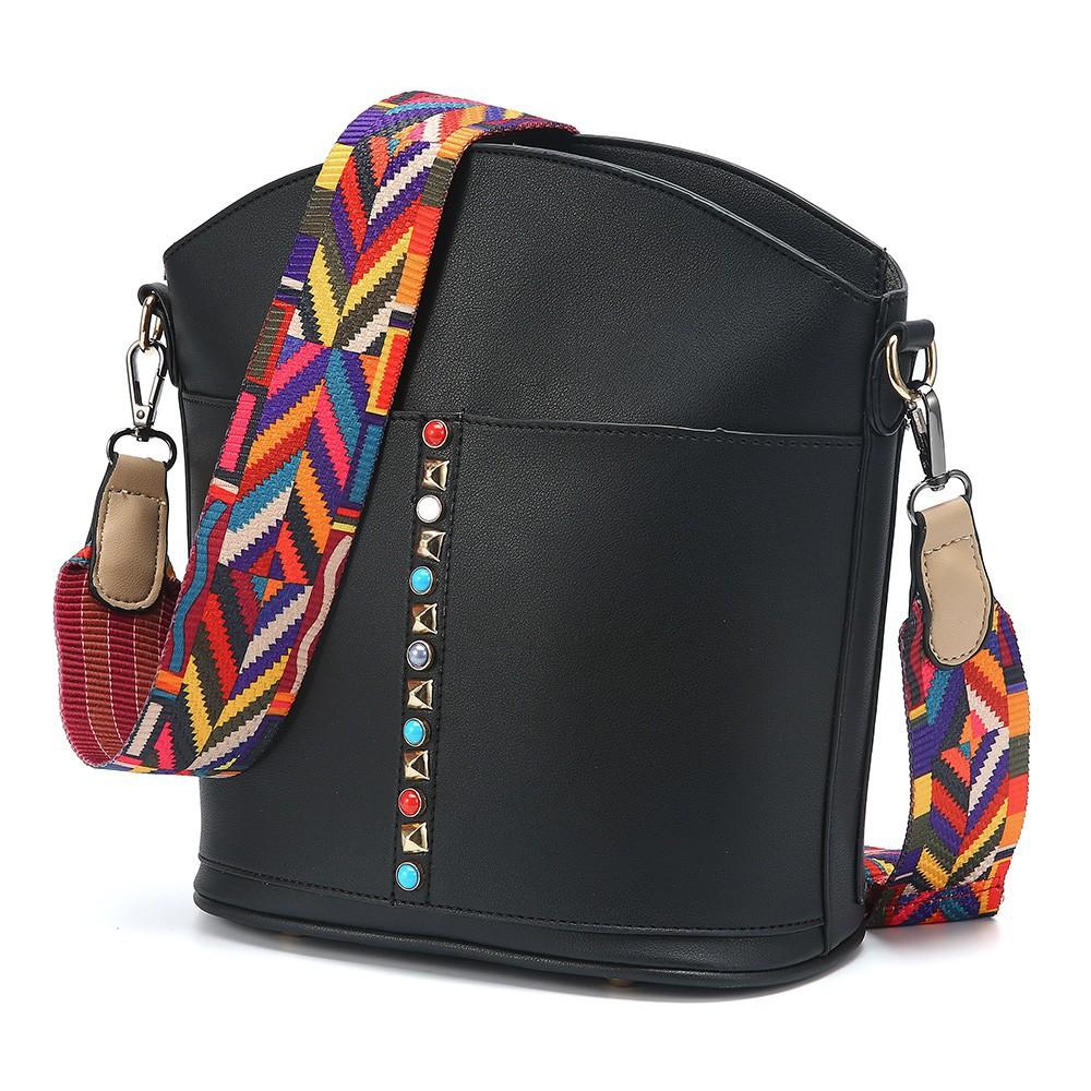 d88a553fb9 Bags Round Shape Wedding Party Evening Handbag Black Flower Clutch | Shopee  Malaysia