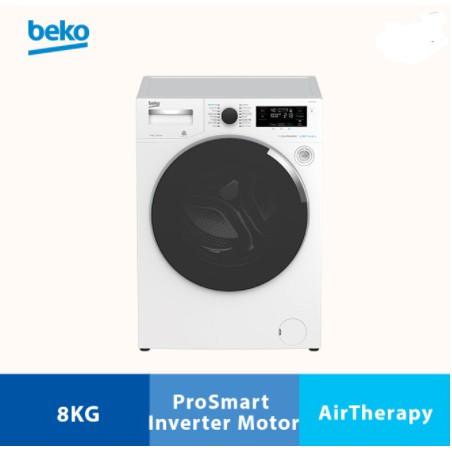 Beko 8.0kg ProSmart Inverter  WTV8744X0A Front Load Washing Machine - WTV 8744 X0A mesin basuh washer