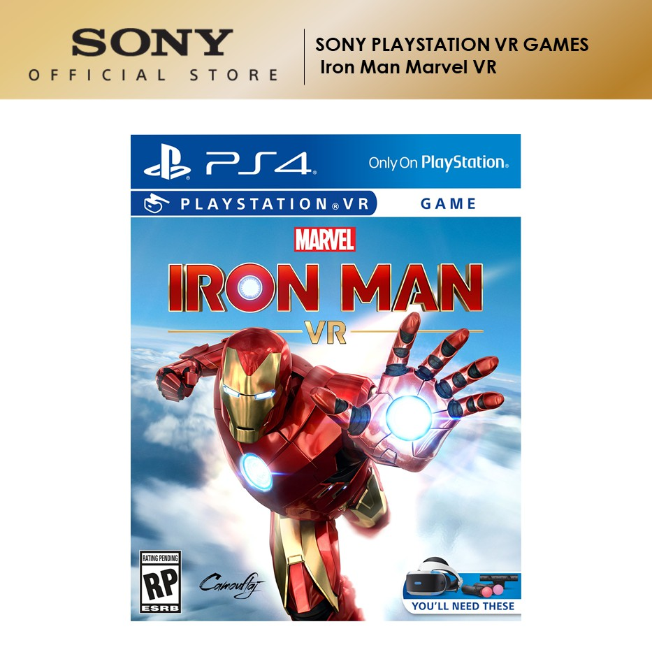 Sony PSVR PS4 Iron Man Marvel VR