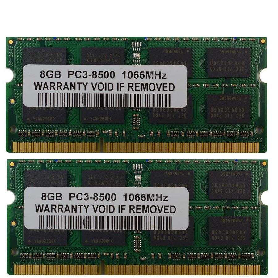 Kingston 16gb 2x 8gb Pc3l 12800 Notebook Ram Ddr3l 1600mhz 204pin Laptop 2rx8 Low Voltage Memory Shopee Malaysia