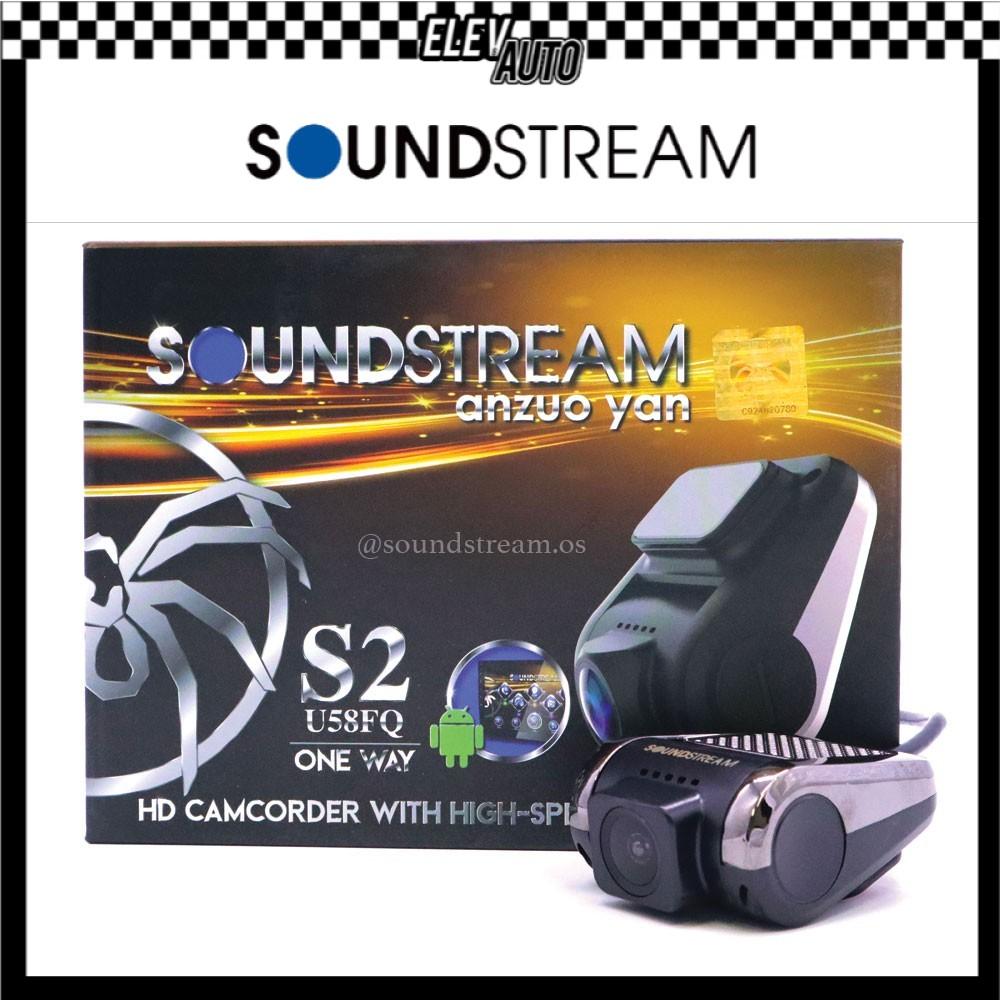 Soundstream USB DVR Car Camera HD Driving Video Recorder S2