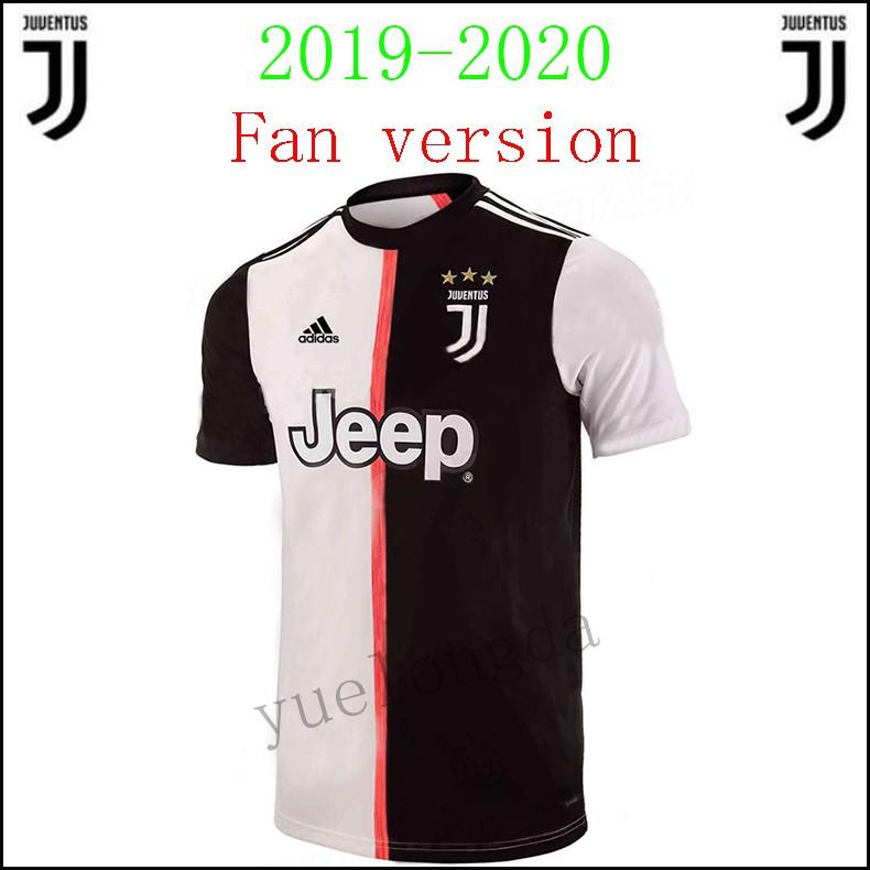 9acd5f4de64 2019/2020 New Season Top Thai Quality Juventus Home kit Soccer Football  jersey   Shopee Malaysia