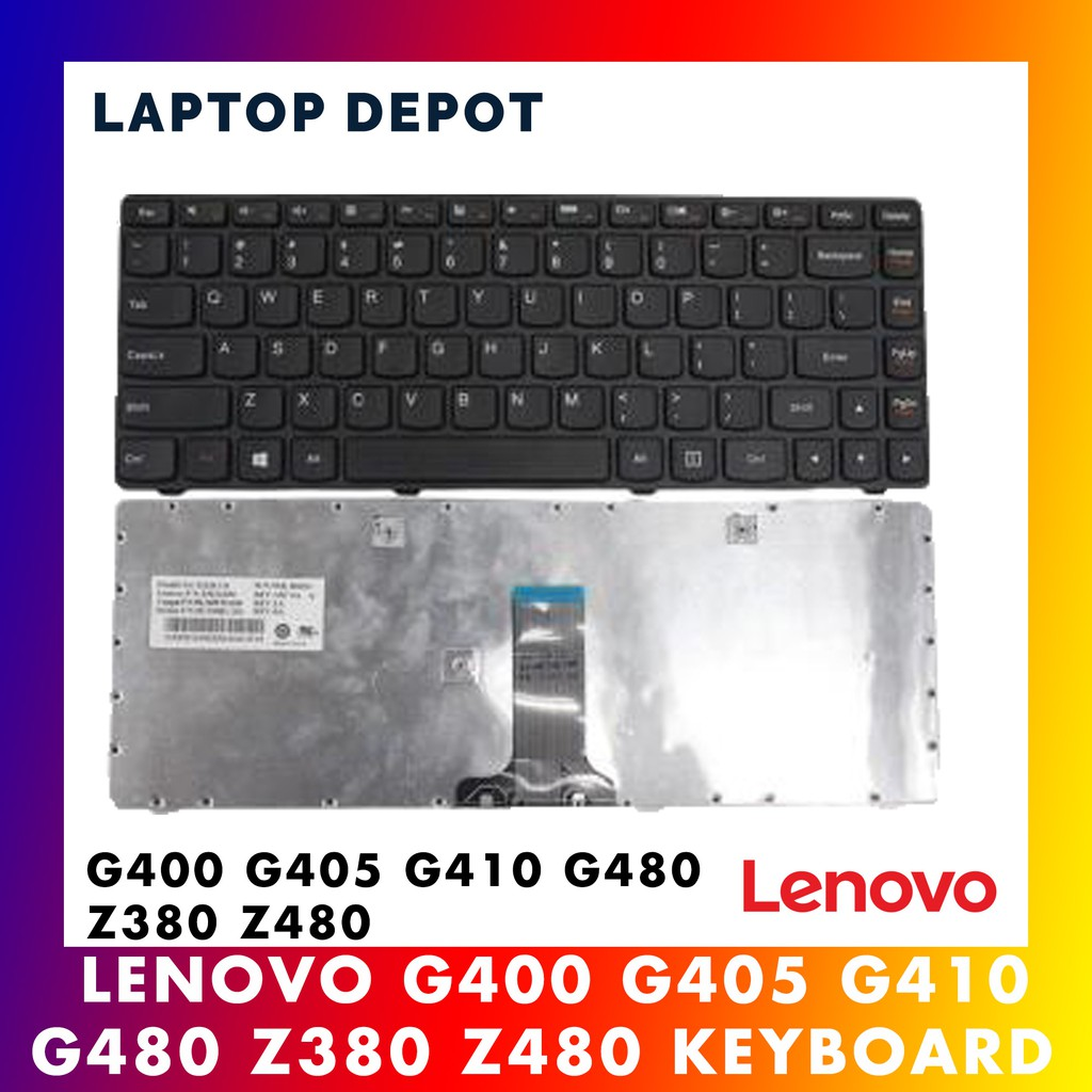 LENOVO G480 G485 G490 Z380 Z480 Z485 G410 G400 G405 Keyboard