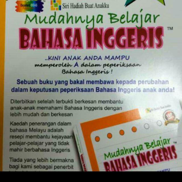 Belajar Bahasa Inggeris Dalam Bahasa Melayu Sesuai Untuk Anak Anak Sekolah Rendah Hingga Dewasa Anak Mudah Faham Dan Cepat Belajar Percuma Buku 48 M S Children S Visual Dictionary Terhad Nak Books Stationery Books
