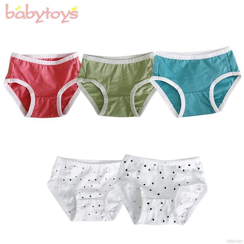 fd37331adf Baby Toddler Girl Boys Cotton Breathable Soft Cartoon Underwear Panties  Briefs