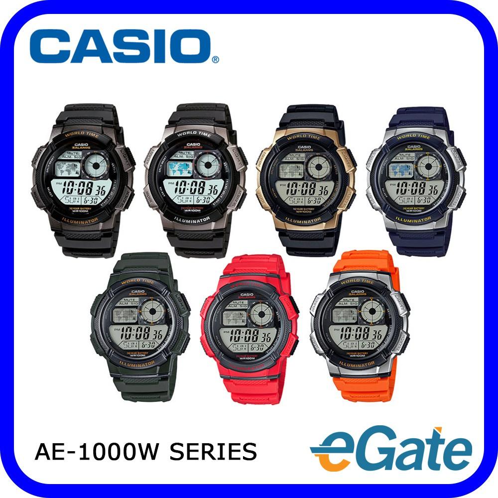 Casio Ae 1000w Series Digital Youth Men Watch Sport Original 1avdf Shopee Malaysia