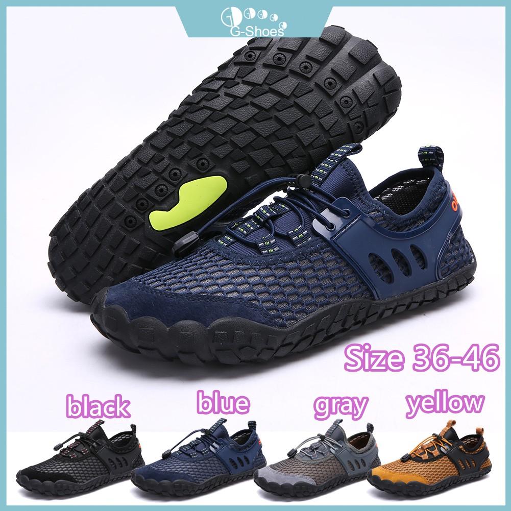 G-shoes】Men's Hiking Shoes Aqua Shoes Water Shoes Beach Outdoor Climbing  Large Size 39-47 | Shopee Malaysia