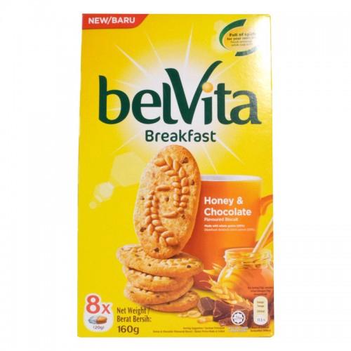 BelVita Breakfast Honey & Chocolate (160g) | Shopee Malaysia