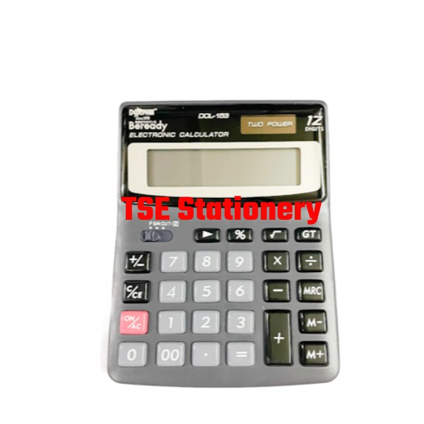 Dolphin Calculator DOL-153 DOL153,  12 DIGITS desktop electronic calculator