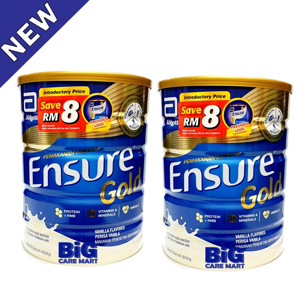 Ensure Gold Vanilla (850g X 2 Tins)