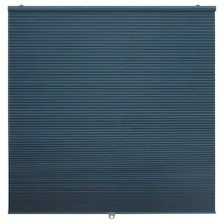 Ikea Hoppvals Room Darkening Cellular Blind Blue I Bidai Selular Pengelap Bilik