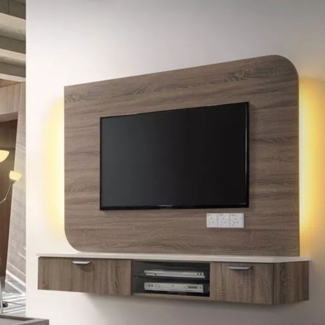 Free Shipping High Quality Designer Concept Diy Wall Mounted Tv Cabinet Diy Shopee Malaysia