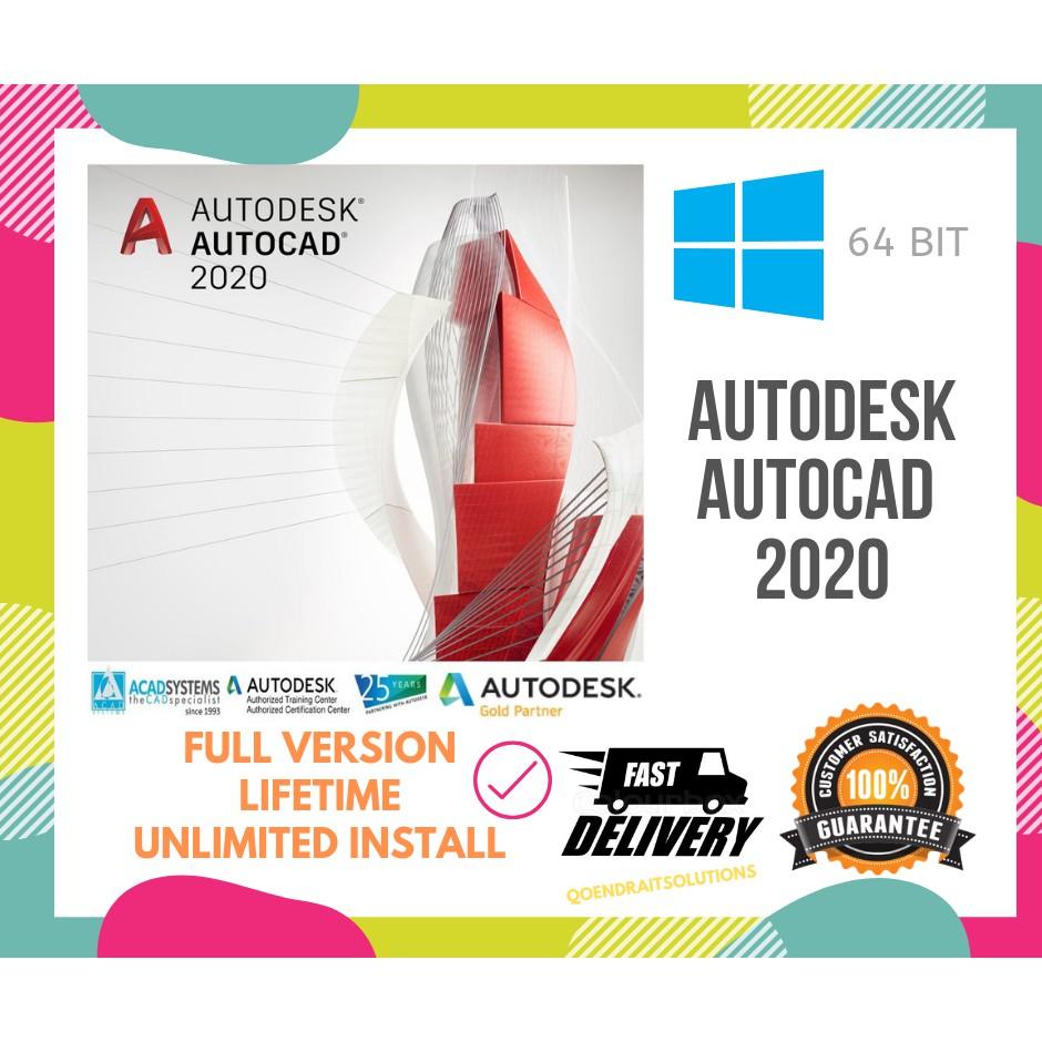 🔥HOT🔥 AUTODESK AUTOCAD 2019 2020
