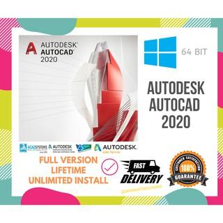 Autodesk Autocad LT 2018 | 2019 | 2020 Full Version | Shopee