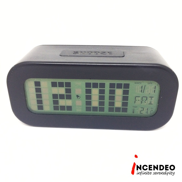Digital Alarm Clock with Backlight