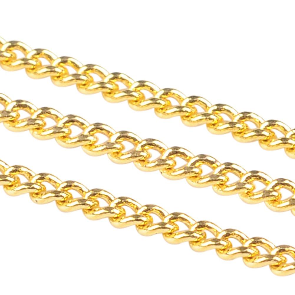 10m Iron Twist Chains Oval Antique Bronze For DIY Craft Bracelet Necklace Making