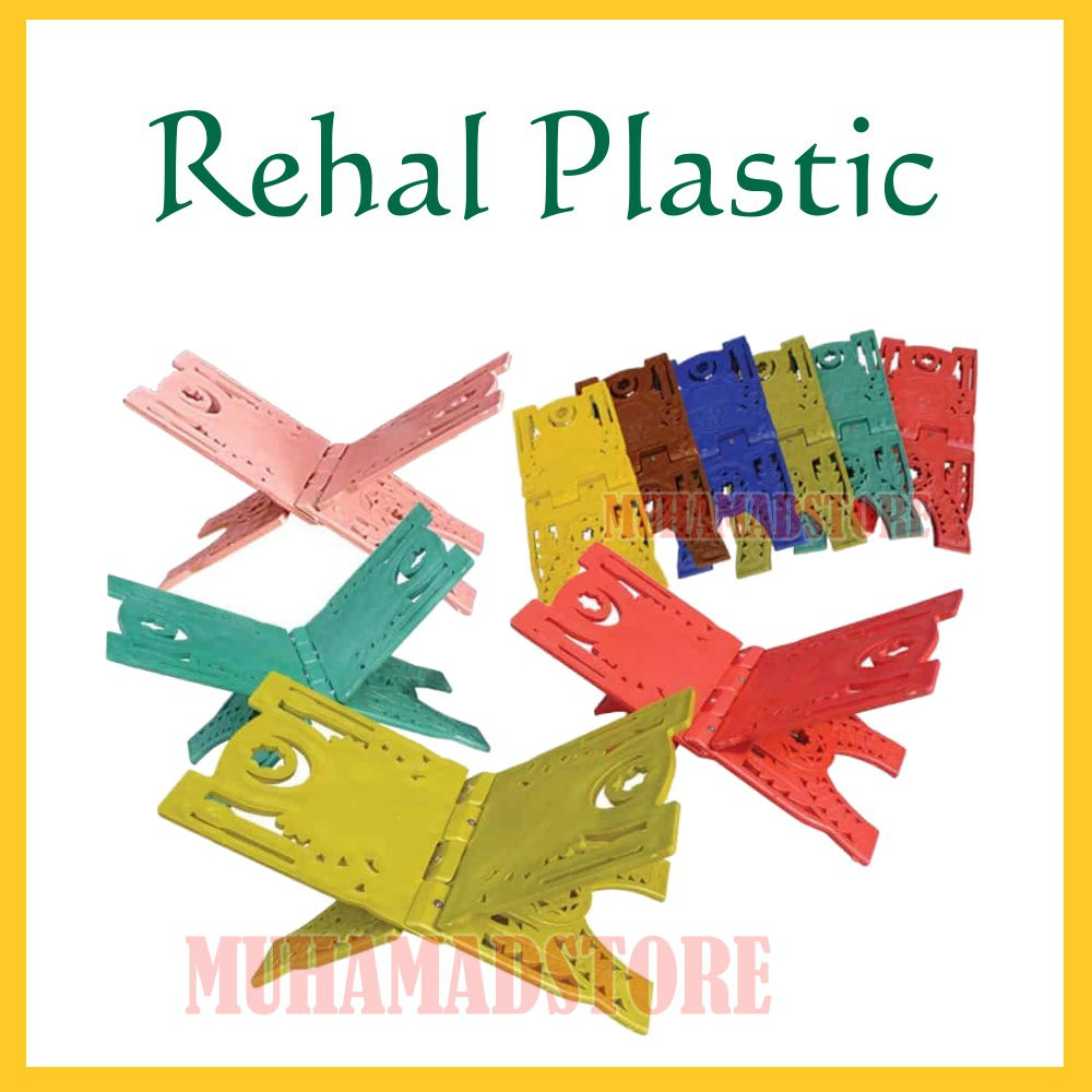 Rehal Plastik berwarna