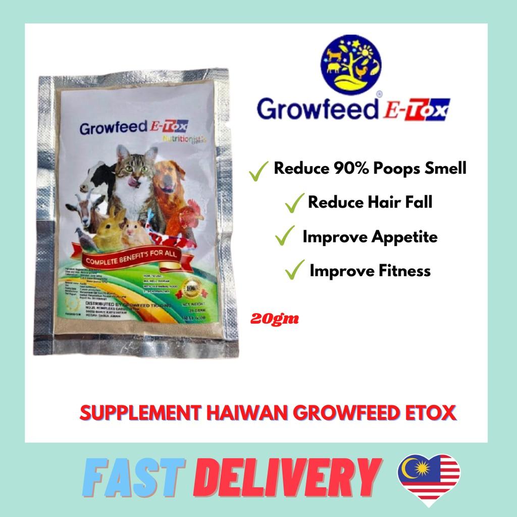 Supplement Haiwan Growfeed E-Tox Nano Technology From Korea 20gm
