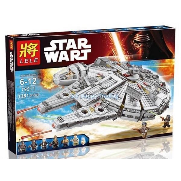 Lele 79211 Star wars The Force Awakens - Millennium Falcon