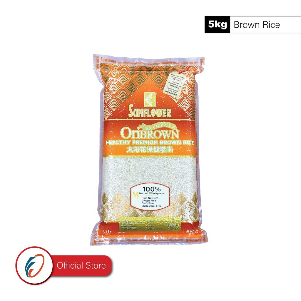 Sunflower OriBrown Healthy Premium Brown Rice (5kg)