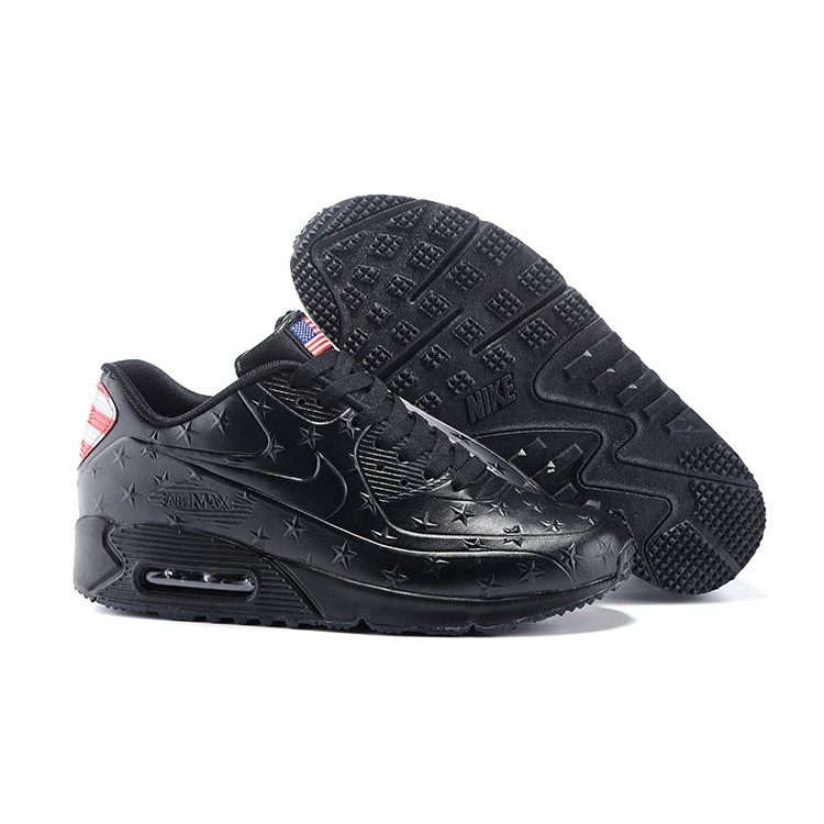 the latest 7c047 7525c 2015 NIKE AIR MAX 90 HYPERFUSE USA Independence Day Black