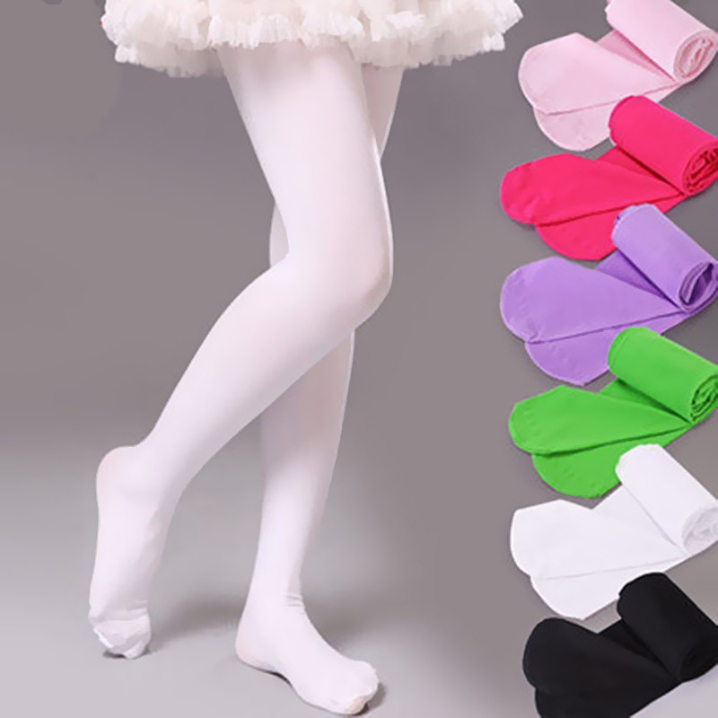 Baby Toddler Girls Tights Knit Cotton Pantyhose Dance Leggings Pants Stockings