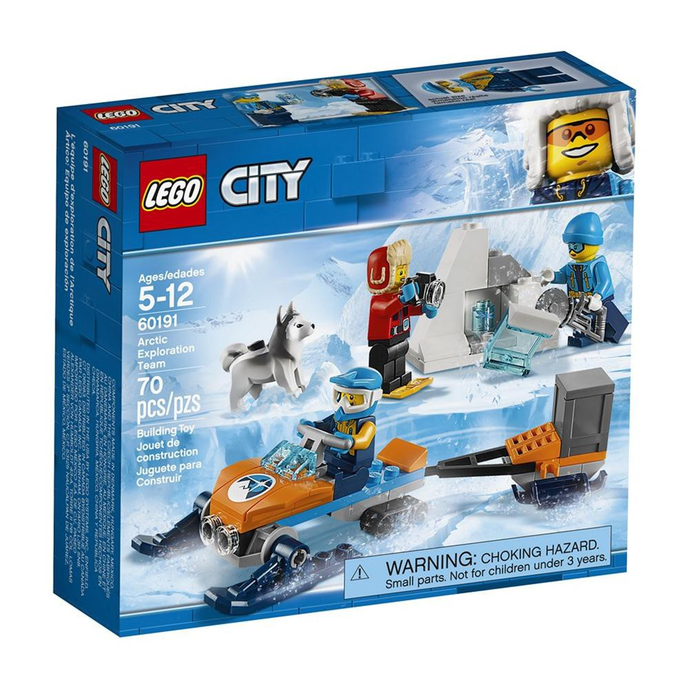 Exploration Team Arctic City Lego 60191 0nkwOP8X