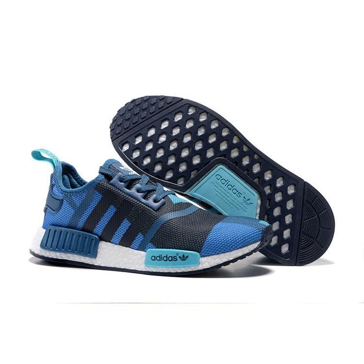 Adidas NMD GEOMETRIC CAMO BLUENAVY