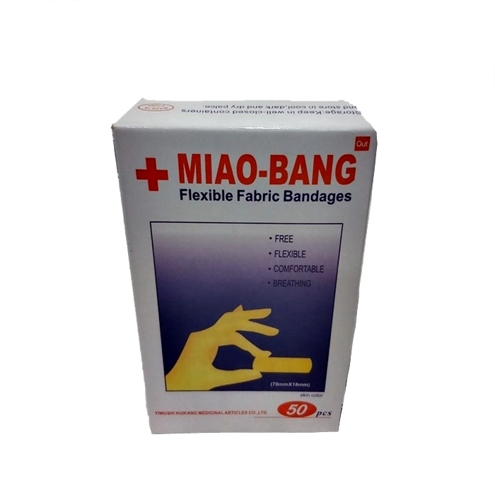 M'SIA STOCK] 50PCS/SET PEMBALUT LUKA Miao Bang Flexible Fabric Bandages